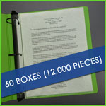 Bulk 60 boxes Lightweight Sheet Protectors