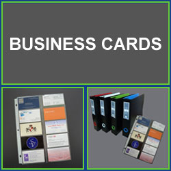Business Card Binder Organizing Kits Business Card