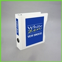 5.5 x 8.5 Mini White Zen View Binder