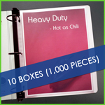 Bulk 20 boxes Low Reflective Heavyweight Sheet Protectors