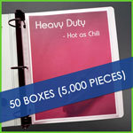 Bulk 50 boxes Low Reflective Heavyweight Sheet Protectors