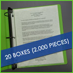 Bulk 20 boxes Lightweight Sheet Protectors