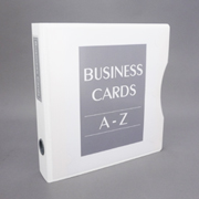 Keepfiling White Zen View Binder option