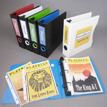 Playbill Binder Set