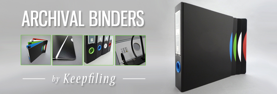 Keepfiling Archival Ring Binders