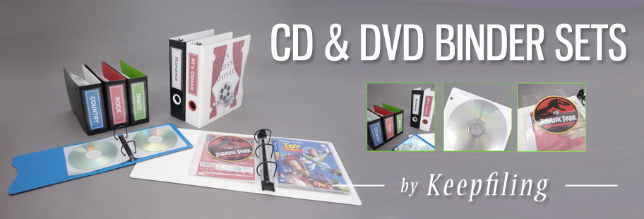 CD Album Storage set from Keepfiling