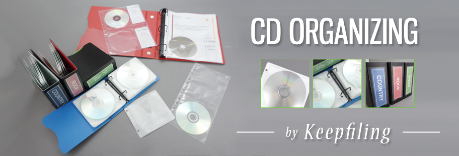 Keepfiling CD & DVD Organizing Products
