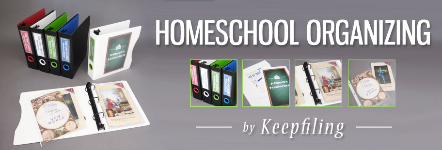 Keepfiling Homeschool Organizing Products