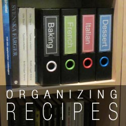 Keepfiling Recipe Binders and 3 ring binder for recipes