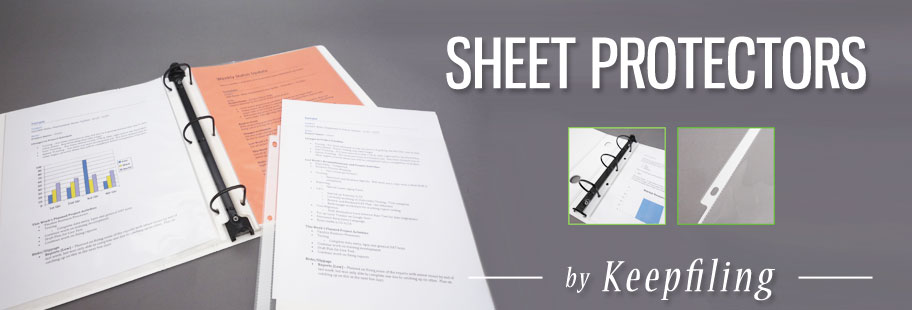 Keepfiling Sheet Protectors