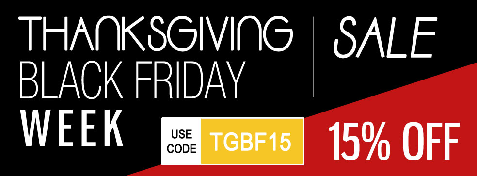 Thanksgiving Black Friday Week Sale