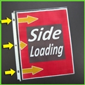 Side Loading Letter Size Sheet Protectors