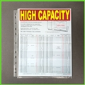 High Capacity Expanding Sheet Protectors