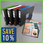 Keepfiling 12 x 12 Scrapbook Album Set