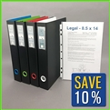 Legal Size Binder Combo