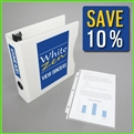 5.5 x 8.5 Mini Presentation Binder Kit