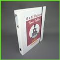 11 x 17 White Zen View Binder